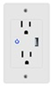 Smart WIFI In Wall Outlet