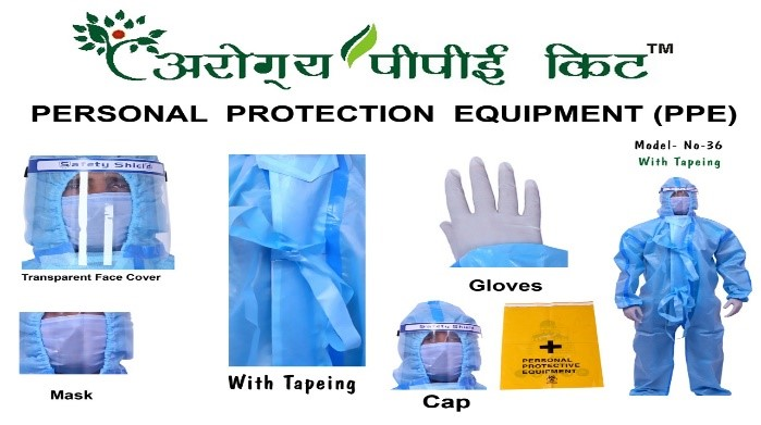 PPE Kit 90GSM DRDO Certified