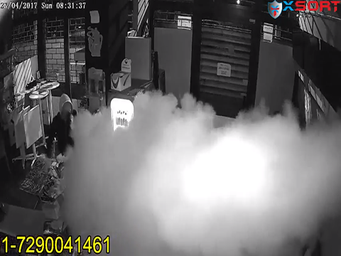 UR Fog cannon stopped crime - Fogging Security System - Xsort Technologies