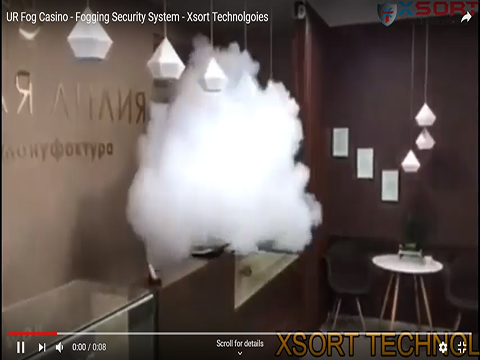 UR Fog Casino - Fogging Security System - Xsort Technolgoies